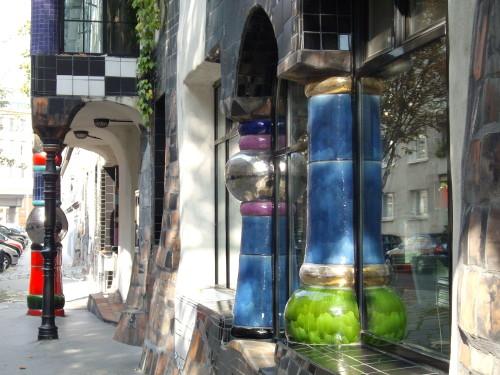 Kunsthaus Wien von Hundertwasser