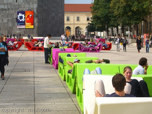 Museumsquartier Wien MQ