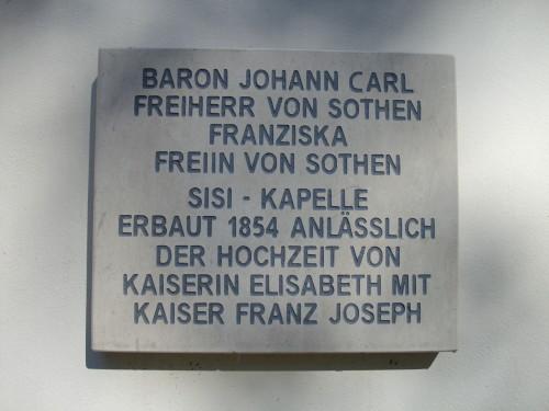 Sisi Kapelle Wien Sissi Vienna