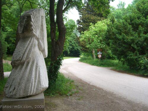 Sisi Hermesvilla Wien Lainzer Tiergarten Sisi Denkmal Ulrike Truger
