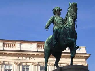 Reiterstandbilder Wien