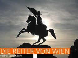 Spezialtouren Wien Reiterstandbilder Heldenplatz