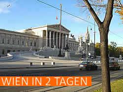 Spezialtouren Wien in 2 Tagen