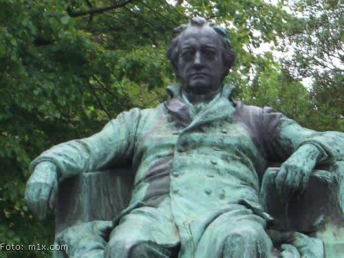 Goethe Denkmal Wien