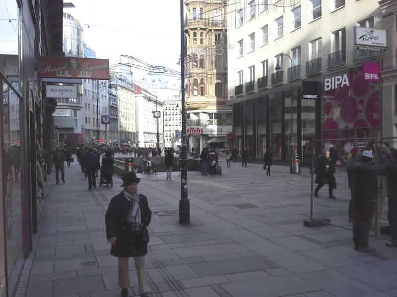 Kärntner Strasse Wien Fußgängerzone