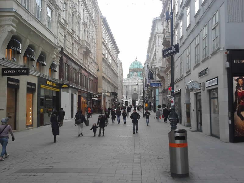 Kohlmarkt Wien