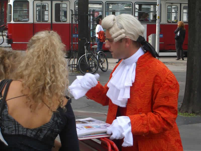 Mozart Denkmal Burggarten