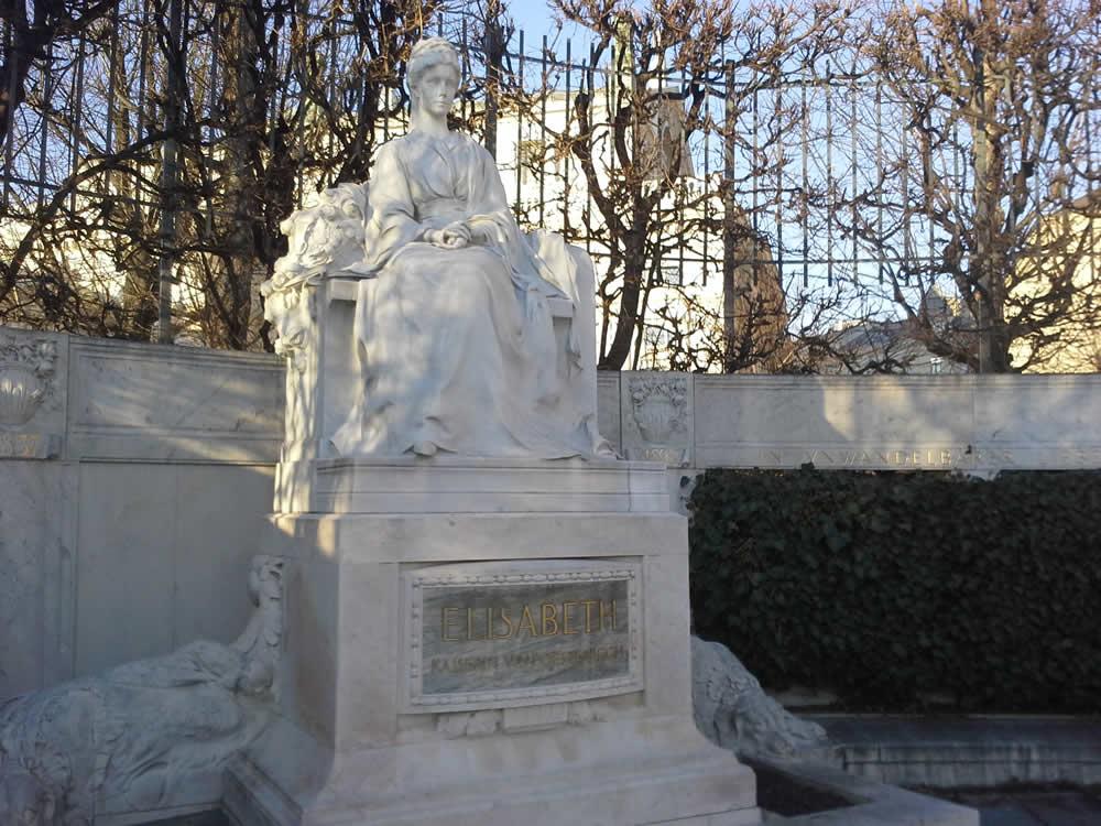 Sisi Denkmal Volksgarten Wien