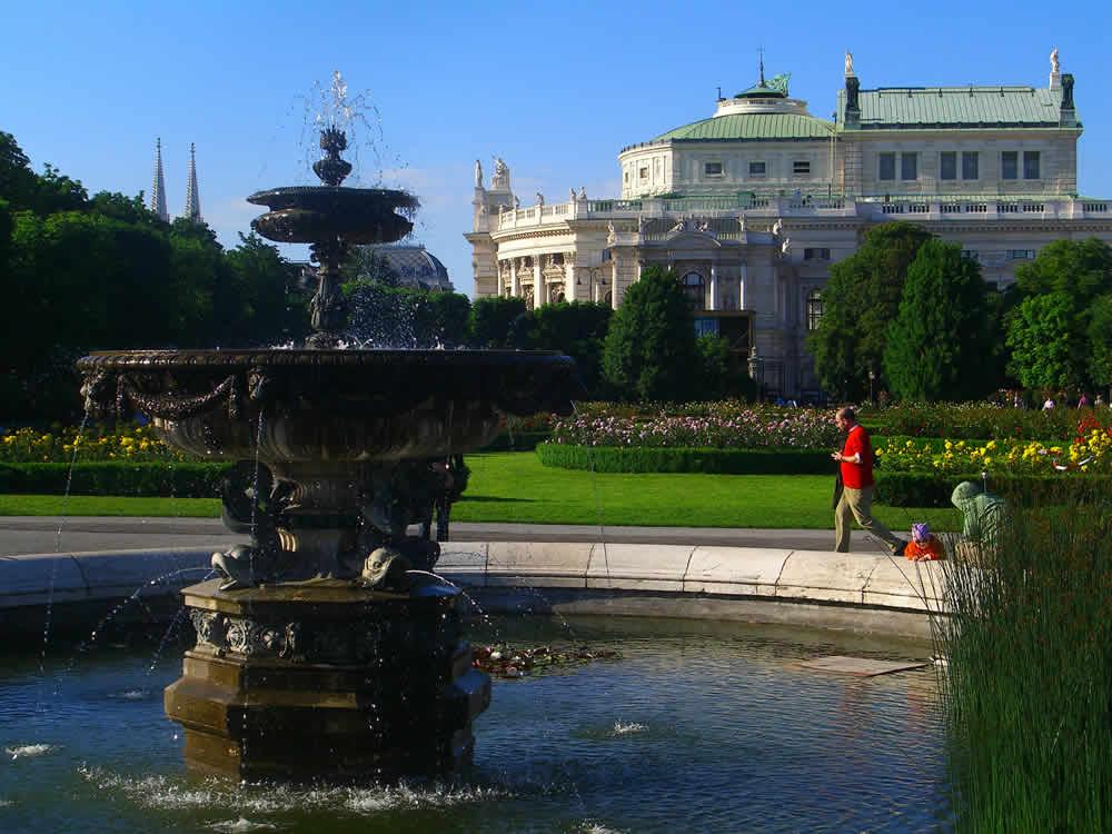 En Volksgarten Wien Vienna Tourist