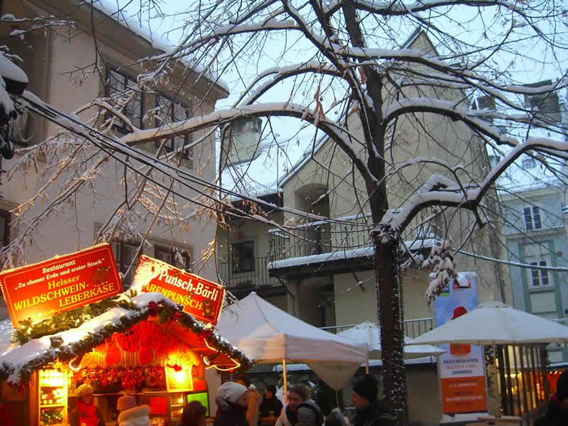 Weihnachten in Wien Weihnachtsmarkt Spittelberg